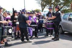 Stix Drummers, St.Leonards Festival Stock Image