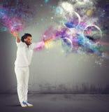 Stjärn- kamp fotografering för bildbyråer