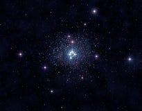 Stjärn- klunga Royaltyfri Bild