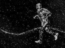 stjärn- löpare Arkivfoton