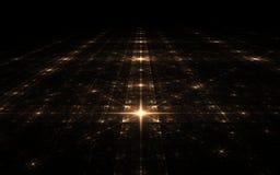 Stjärn- yttersida för Fractal Arkivbilder