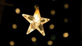 Stjärna stock video