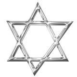 Stjärna av david royaltyfri illustrationer