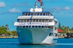Stjärna av Honolulu arkivfoto