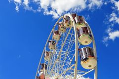Stjärna av showen Ferris Wheel arkivfoton