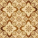 Stjärna c för kurva för bakgrund för Retro brun korktexturgrunge sömlös vektor illustrationer