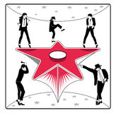 stjärna för dansare s Arkivbild