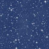 stjärna för fantasinattsky Arkivbilder
