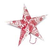 stjärna för natt för julfractalbild royaltyfri bild