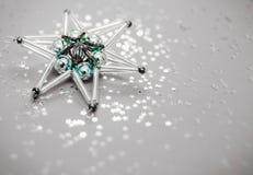 stjärna för natt för julfractalbild dottergyckel som har min bildpölsommar Arkivfoton