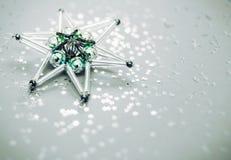 stjärna för natt för julfractalbild dottergyckel som har min bildpölsommar Fotografering för Bildbyråer
