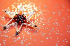 stjärna för natt för julfractalbild dottergyckel som har min bildpölsommar Royaltyfria Foton