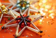 stjärna för natt för julfractalbild dottergyckel som har min bildpölsommar Royaltyfri Foto