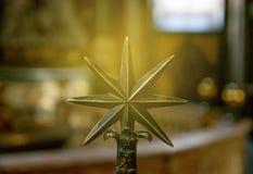 Stjärna för 7 punkt Arkivbilder