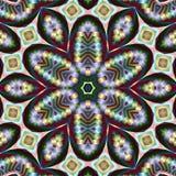 stjärna för regnbågebandsnowflake arkivbilder