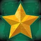 Stjärna-guld Royaltyfria Bilder