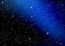 Stjärna på darken Royaltyfri Fotografi