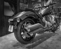 Stjärna 2014 Stryker, Michigan motorcykelshow Arkivbild