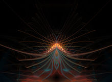 Stjärnaabstrakt begreppblomma Royaltyfri Foto