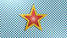 Stjärnabakgrund, illustration 3D Arkivbild