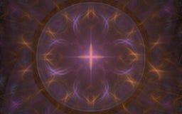 Stjärnablommasymbol Royaltyfri Bild
