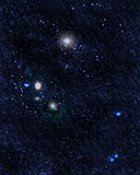 Stjärnafält royaltyfria bilder