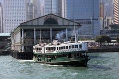 Stjärnafärja i Hong Kong Arkivfoton