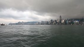 Stjärnafärjapir Hong Kong arkivfilmer