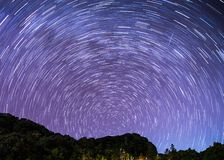 Stjärnaförsök arkivbild