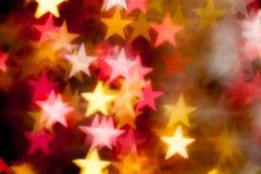 Stjärnaform som bakgrund Royaltyfri Fotografi