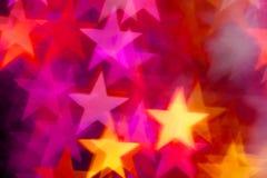 Stjärnaform som bakgrund Royaltyfria Foton
