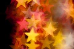Stjärnaform som bakgrund Arkivfoto