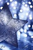 Stjärnagarnering, julgranprydnad Arkivbilder