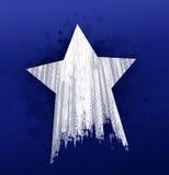 Stjärnagummihjulfläckar Royaltyfri Bild