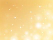Stjärnajulbakgrund Royaltyfri Foto