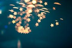 Stjärnakonstbakgrund Arkivfoton