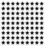 Stjärnalinje gräns för footer för fyrkantvektordesign modern vektor illustrationer