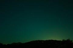 Stjärnaljus Arkivfoto