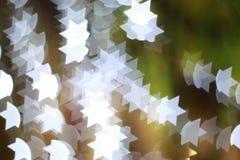 Stjärnaljusbokeh royaltyfri bild