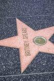Stjärnan av Britney Spears går på av berömmelse - den Hollywood blvden - LOS ANGELES - KALIFORNIEN - APRIL 20, 2017 arkivbilder