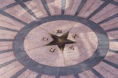 Stjärnan av Texas i Austin Arkivbilder