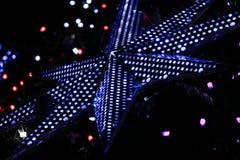 Stjärnan formar Arkivfoto