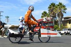 Stjärnan kriger cykeln Arkivfoto