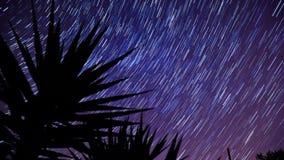 Stjärnan skuggar bakgrund stock video