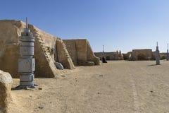 Stjärnan Wars filmar uppsättningen, Tunisien Arkivfoto