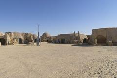 Stjärnan Wars filmar uppsättningen, Tunisien Royaltyfri Fotografi