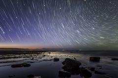 Stjärnanatt Fotografering för Bildbyråer