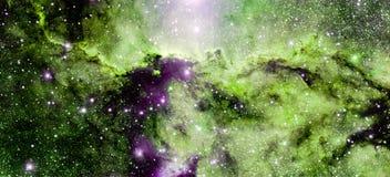 Stjärnanebulosa i utrymme Royaltyfria Foton