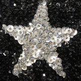 StjärnaSequins Arkivfoto