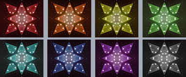 Stjärnastenar Arkivfoto